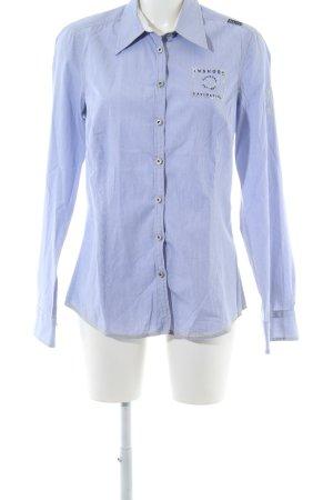 Gaastra Langarmhemd blau Streifenmuster Casual-Look