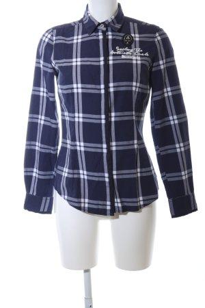 Gaastra Long Sleeve Shirt blue allover print casual look