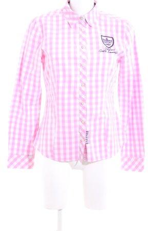 Gaastra Langarmhemd pink-weiß Allover-Druck Casual-Look