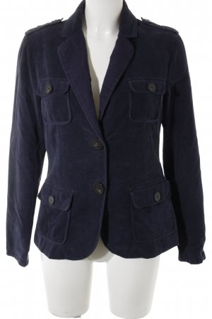 Gaastra Long-Blazer dunkelblau Casual-Look