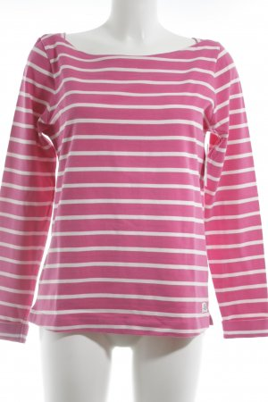 Gaastra Longsleeve rosa-creme Streifenmuster Street-Fashion-Look