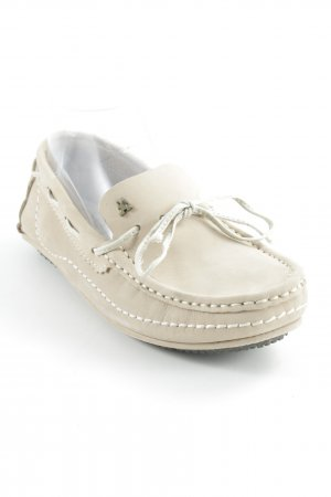 Gaastra Mocassins beige clair style simple