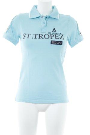 Gaastra Polo-Shirt babyblau sportlicher Stil