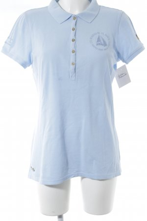 Gaastra Polo-Shirt hellblau Casual-Look