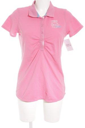 Gaastra Polo-Shirt pink sportlicher Stil
