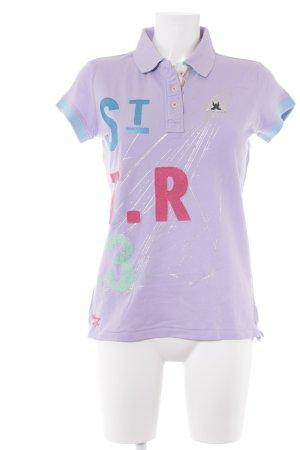 Gaastra Polo-Shirt platzierter Druck Street-Fashion-Look