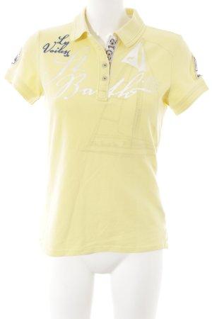 Gaastra Polo-Shirt Schriftzug gedruckt Casual-Look