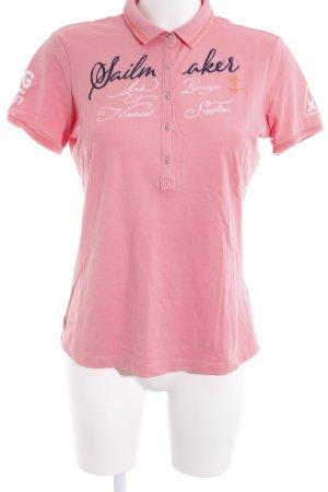 Gaastra Polo-Shirt Schriftzug gestickt Segel-Look