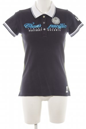 Gaastra Polo Shirt embroidered lettering athletic style