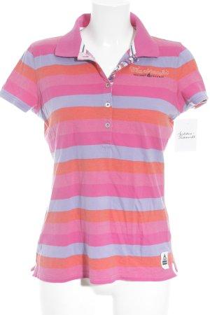 Gaastra Polo-Shirt Streifenmuster Segel-Look