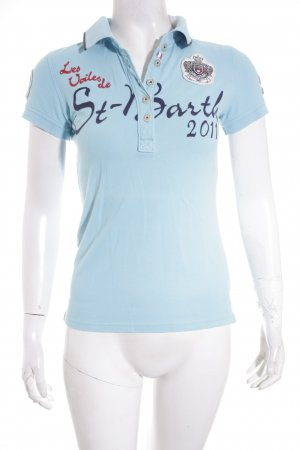 Gaastra Polo-Shirt türkis sportlicher Stil