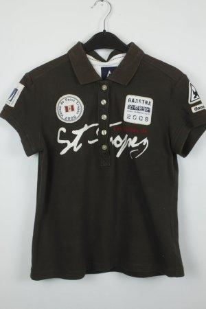 Gaastra Poloshirt Gr. M / L braun