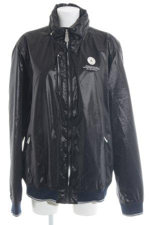 Gaastra Regenjacke schwarz-weiß Casual-Look