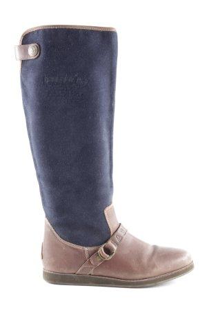 Gaastra Jackboots brown-dark blue simple style