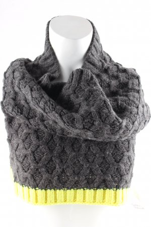 Gaastra Tube Scarf grey-yellow casual look