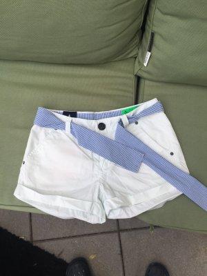 Gaastra Shorts blanco-azul