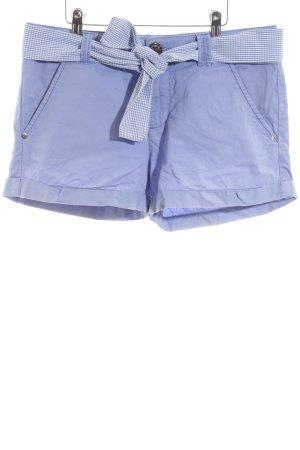 Gaastra Shorts blau Karomuster Casual-Look
