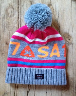 Gaastra Bobble Hat grey polyacrylic