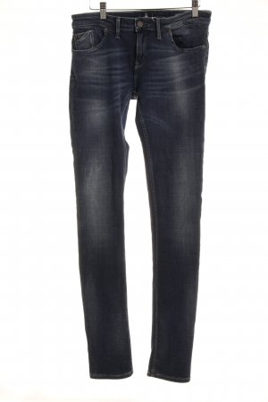 Gaastra Slim Jeans dunkelblau Washed-Optik