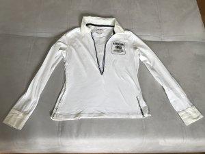 Gaastra sportliches Tshirt mit deutlichem Aufdruck und tiefem Ausschnitt
