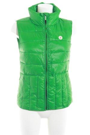 Gaastra Steppweste grün Steppmuster Casual-Look