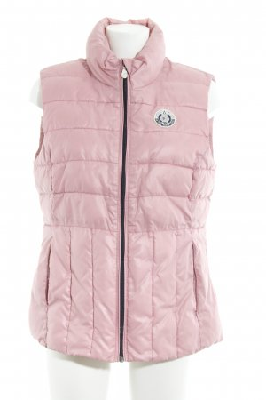 Gaastra Quilted Gilet pink casual look