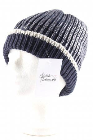 Gaastra Knitted Hat silver-colored-dark blue casual look