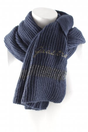 Gaastra Knitted Scarf dark blue casual look