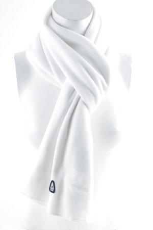 Gaastra Écharpe en tricot blanc style décontracté