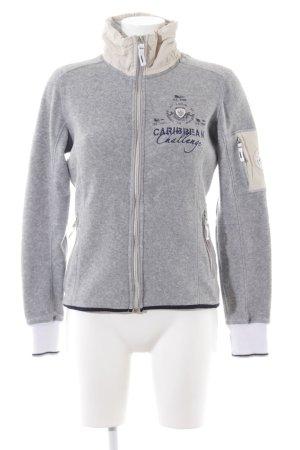 Gaastra Sweat Jacket light grey flecked casual look