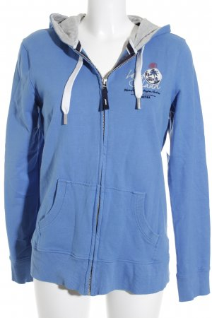 Gaastra Sweatjacke blau Casual-Look