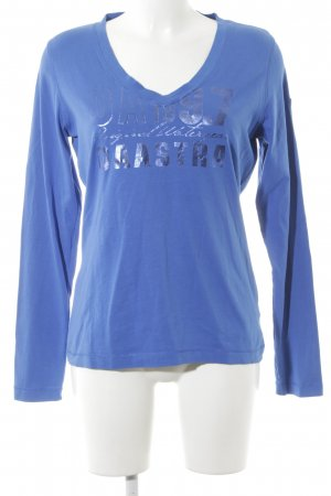 Gaastra Sweatshirt blau platzierter Druck Casual-Look