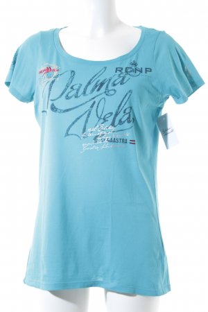 Gaastra T-Shirt blau Casual-Look