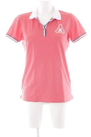 Gaastra T-Shirt hellrot-weiß sportlicher Stil