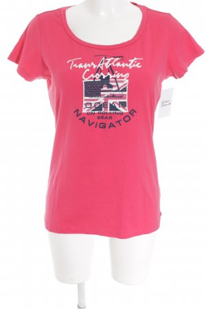 Gaastra T-Shirt magenta Casual-Look