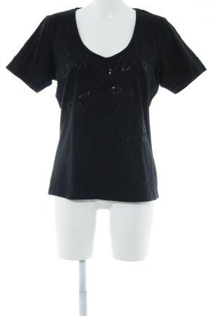 Gaastra T-Shirt schwarz Casual-Look