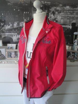 Gaastra*Traum Softshelljacke Napuka*rot-pink Stitching*XXL=44/46