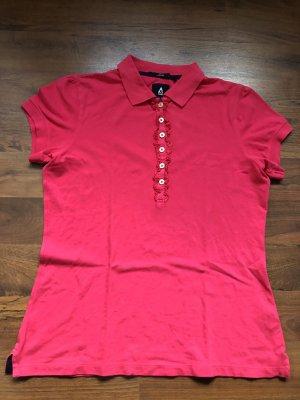 Gaastra Tshirt mit Knopfleiste pink