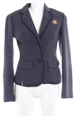 Gaastra Tweedblazer grau-dunkelblau meliert College-Look