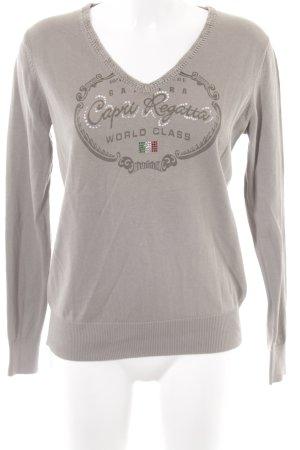 Gaastra V-Ausschnitt-Pullover khaki Casual-Look