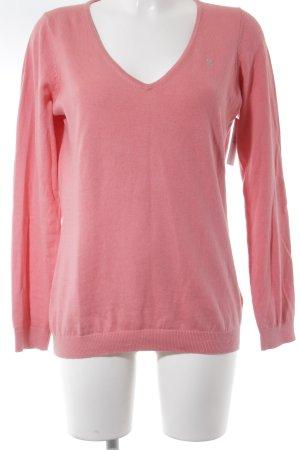 Gaastra V-Ausschnitt-Pullover magenta Casual-Look