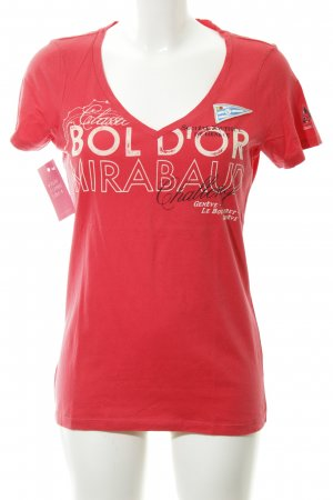 Gaastra V-Neck Shirt printed lettering casual look