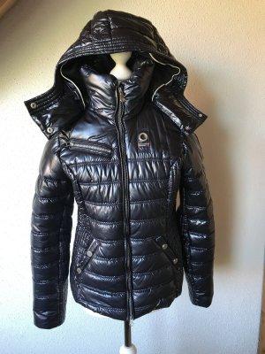 Gaastra Quilted Jacket blue mixture fibre