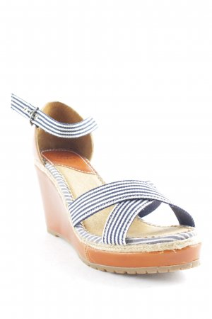 Gaastra Wedge Sandals striped pattern beach look