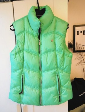 Gaastra Quilted Gilet neon green