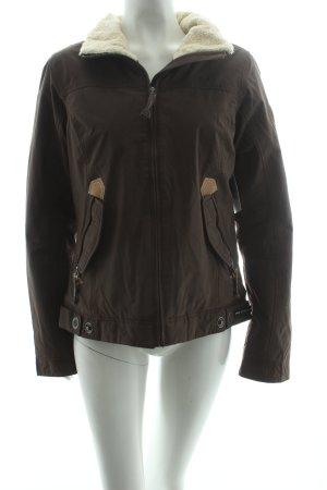 Gaastra Veste d'hiver gris brun style décontracté