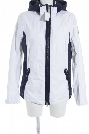 Gaastra Winterjacke weiß-dunkelblau Casual-Look