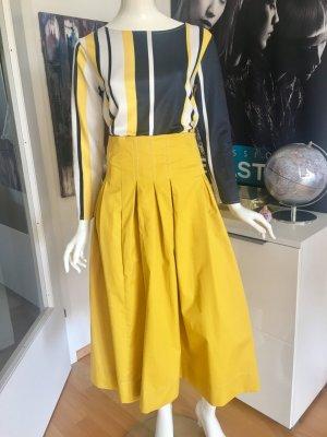 Gabbiani Maxi Rock Hoschek Stil und Shirt ital Boutique Small npr 259