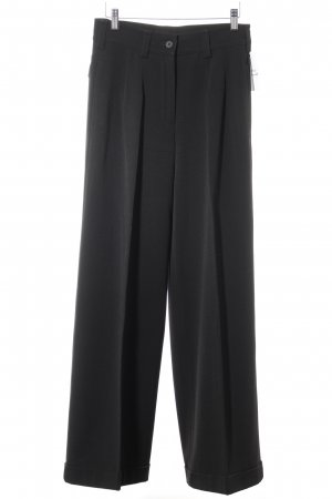 Gabi Lauton Bundfaltenhose schwarz Business-Look