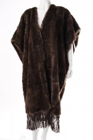 Gabi Lauton Fake Fur Cape